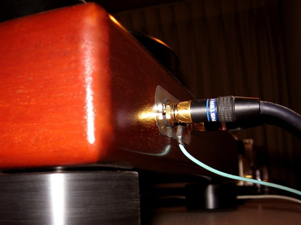 Unplug the power source from your record player