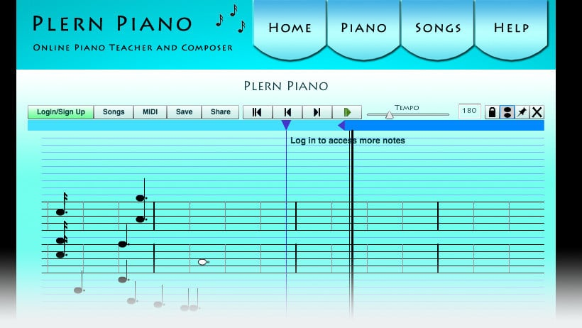 Plern Online Piano Teacher and Composer