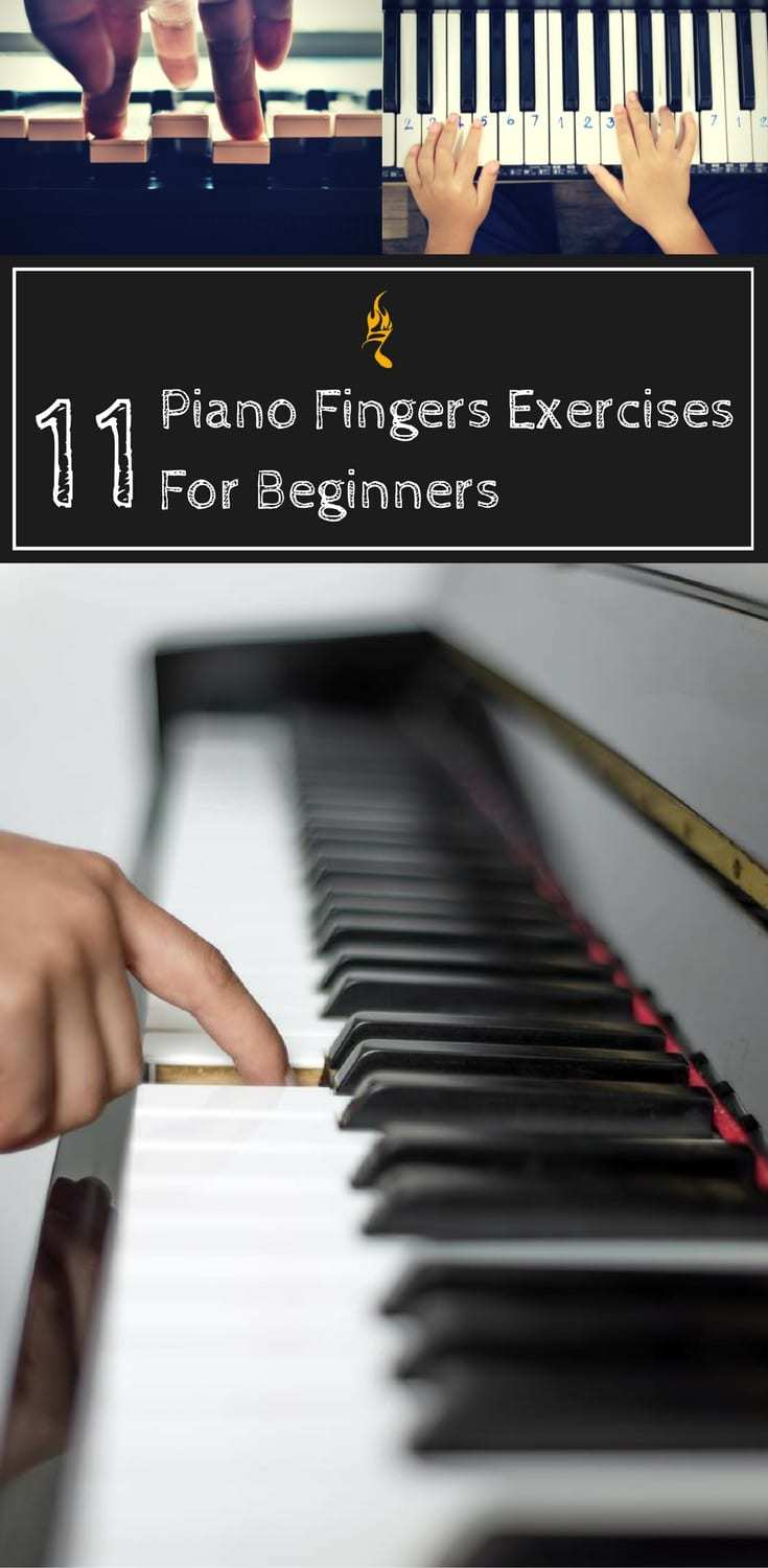 11 Effective Piano Fingers Exercises For Beginners