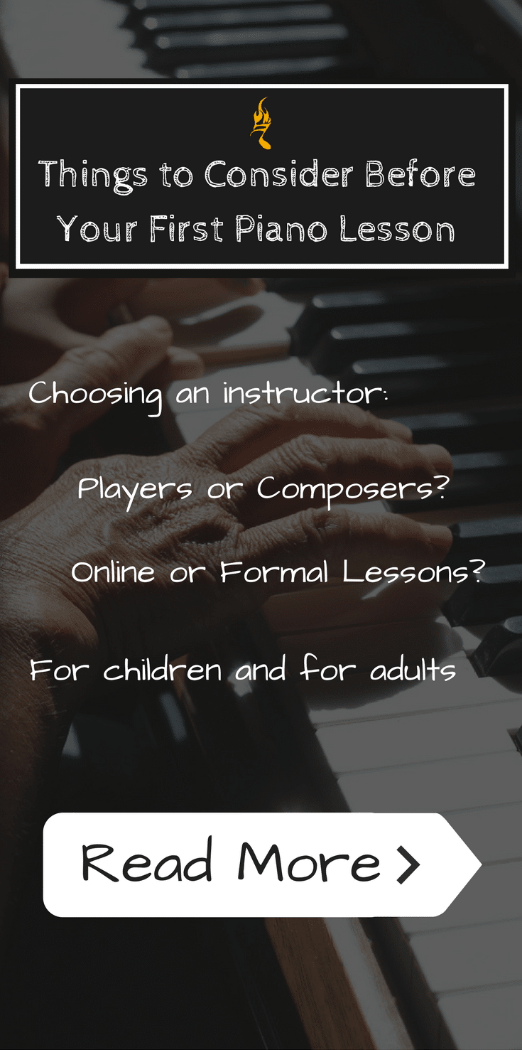 Things to Consider Before Your First Piano Lesson