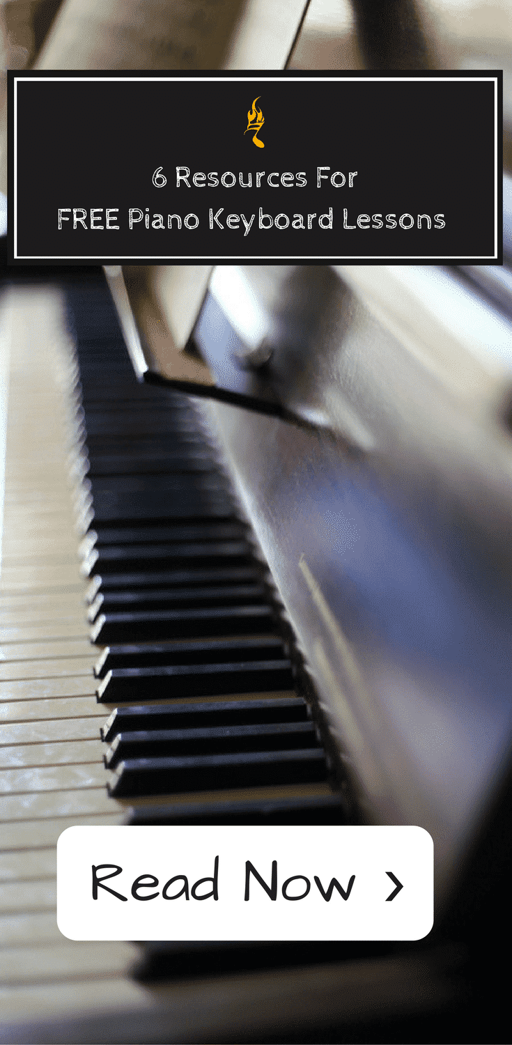 6 Resources For FREE Keyboard Lessons