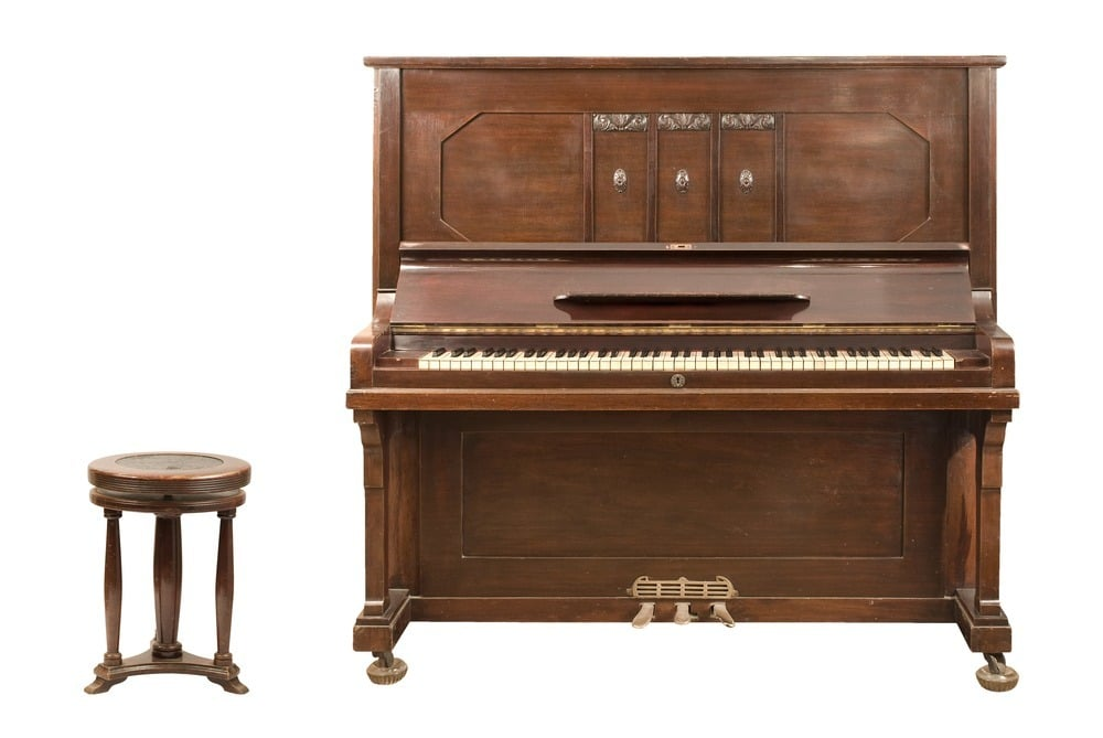 the upright piano