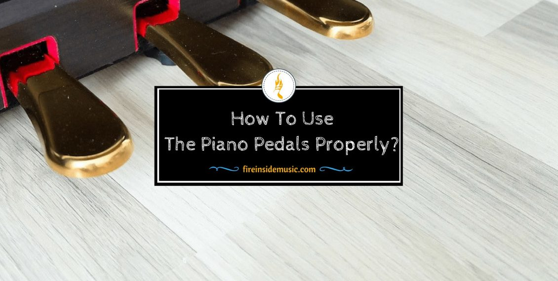 How To Use The Piano Pedals Properly?