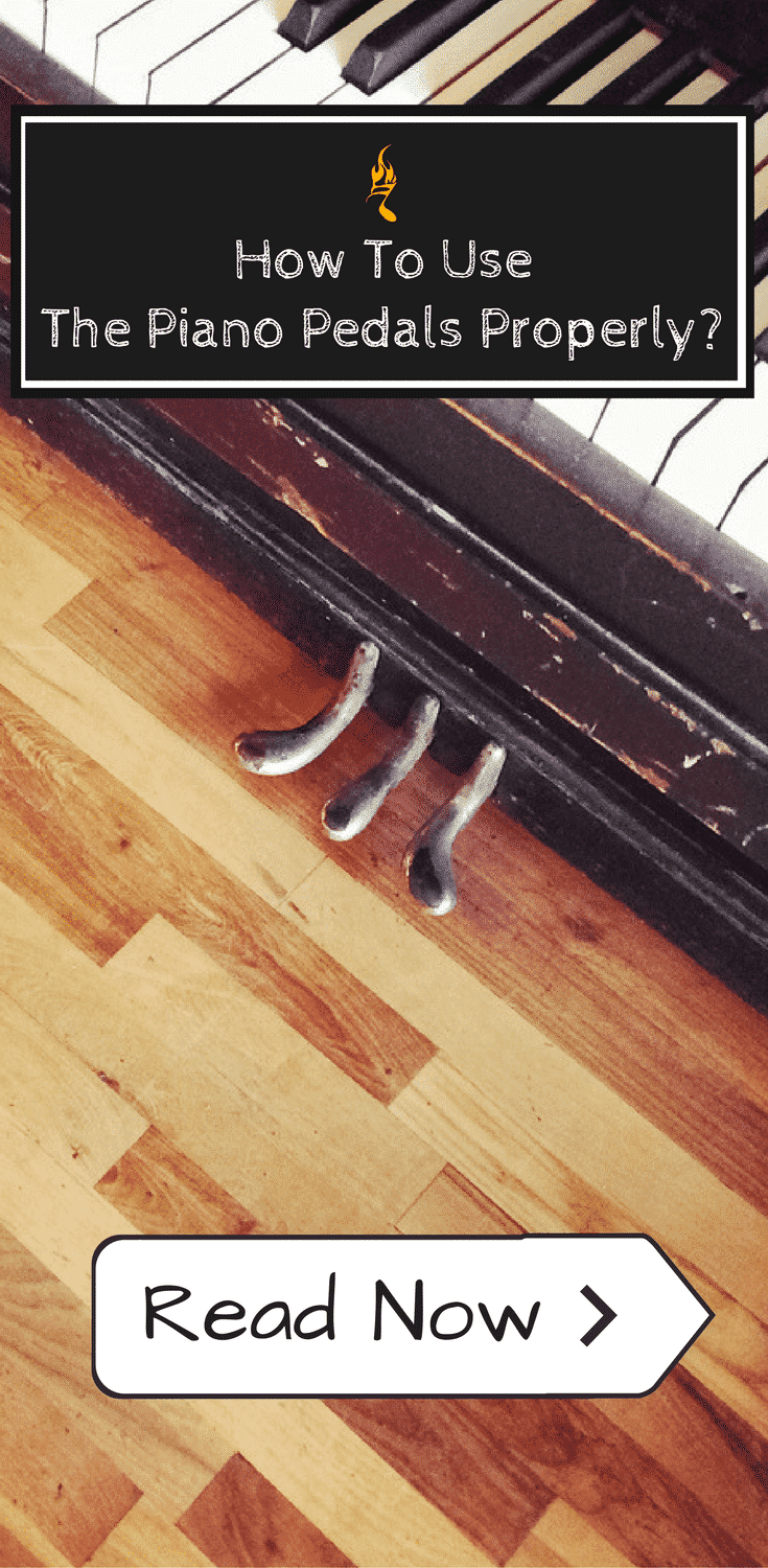 How To Use The Piano Pedals Properly