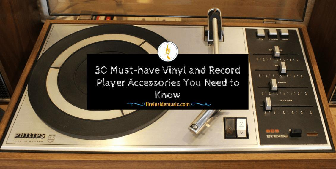 Vinyl and Record Player Accessories