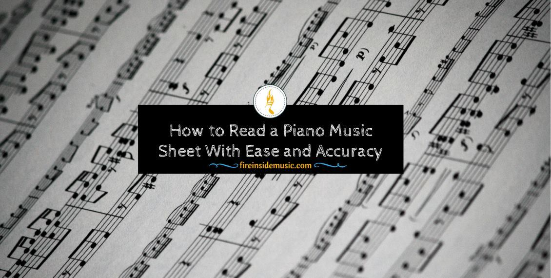 How to Read a Piano Music Sheet
