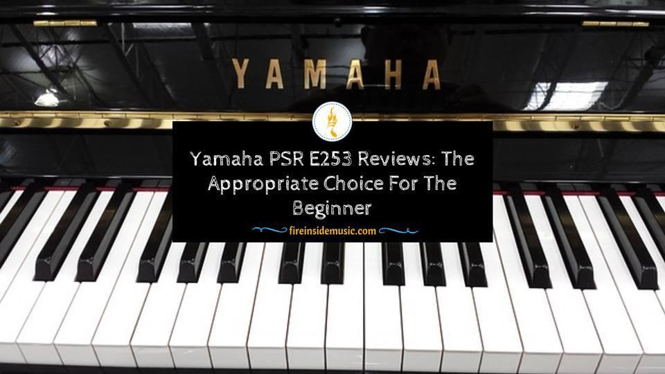 yamaha psr e253 Review FIM