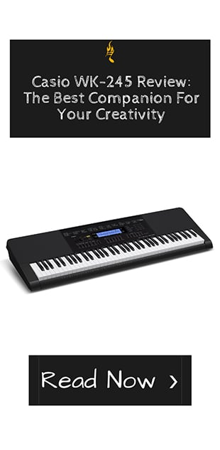 Casio WK-245 Review_ The Best Companion For Your Creativity