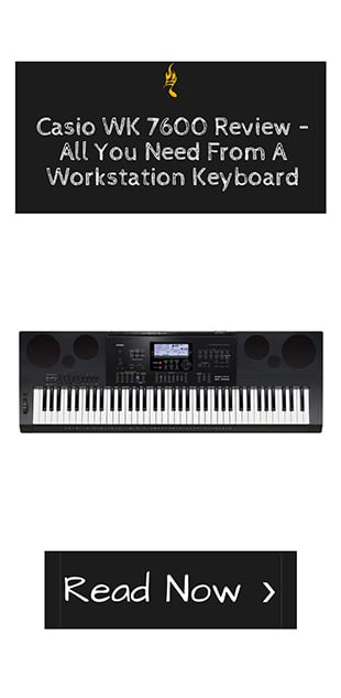 Casio WK 7600 Review – All You Need From A Workstation Keyboard