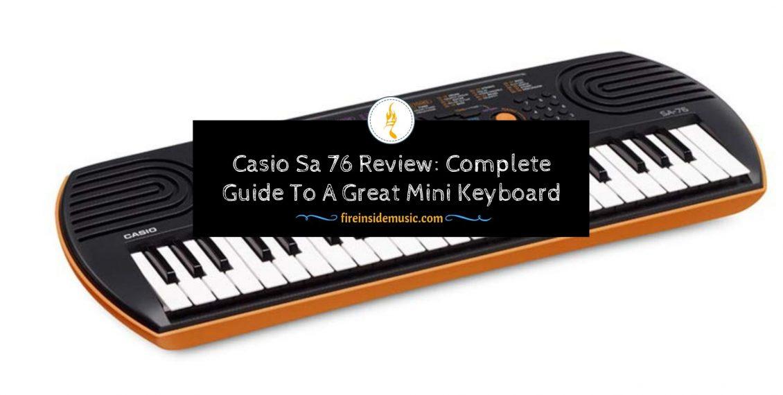 Casio Sa 76 Review