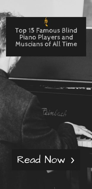 Top 15 Famous Blind Piano Players and Muscians of All Time
