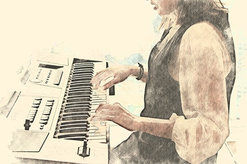 good keyboard to learn piano