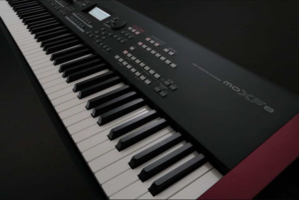 Keyboard Of Yamaha MOXF8.