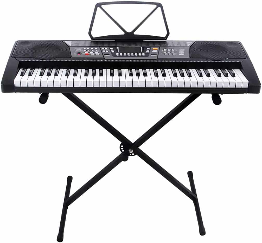 LAGRIMA 61 Key Portable Electric Piano Keyboard