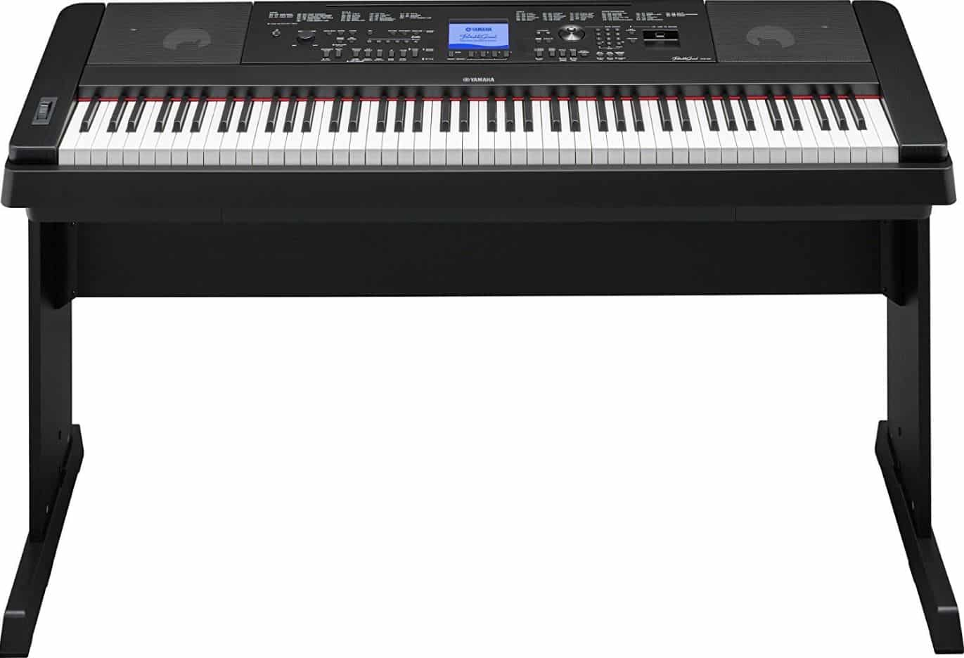 Yamaha DGX660B 88-Key Weighted Digital Piano