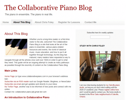 The Collaborative Piano Blog