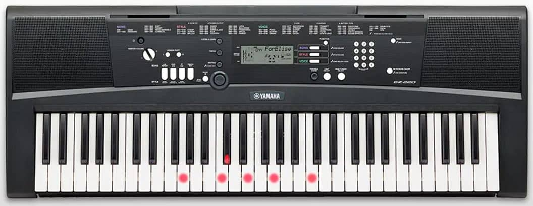 Yamaha EZ220 61 Key Lighting Keyboard