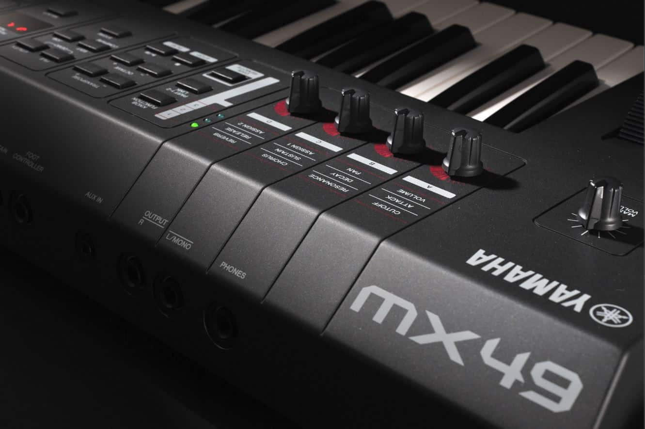 Yamaha MX49 Sounds Controller