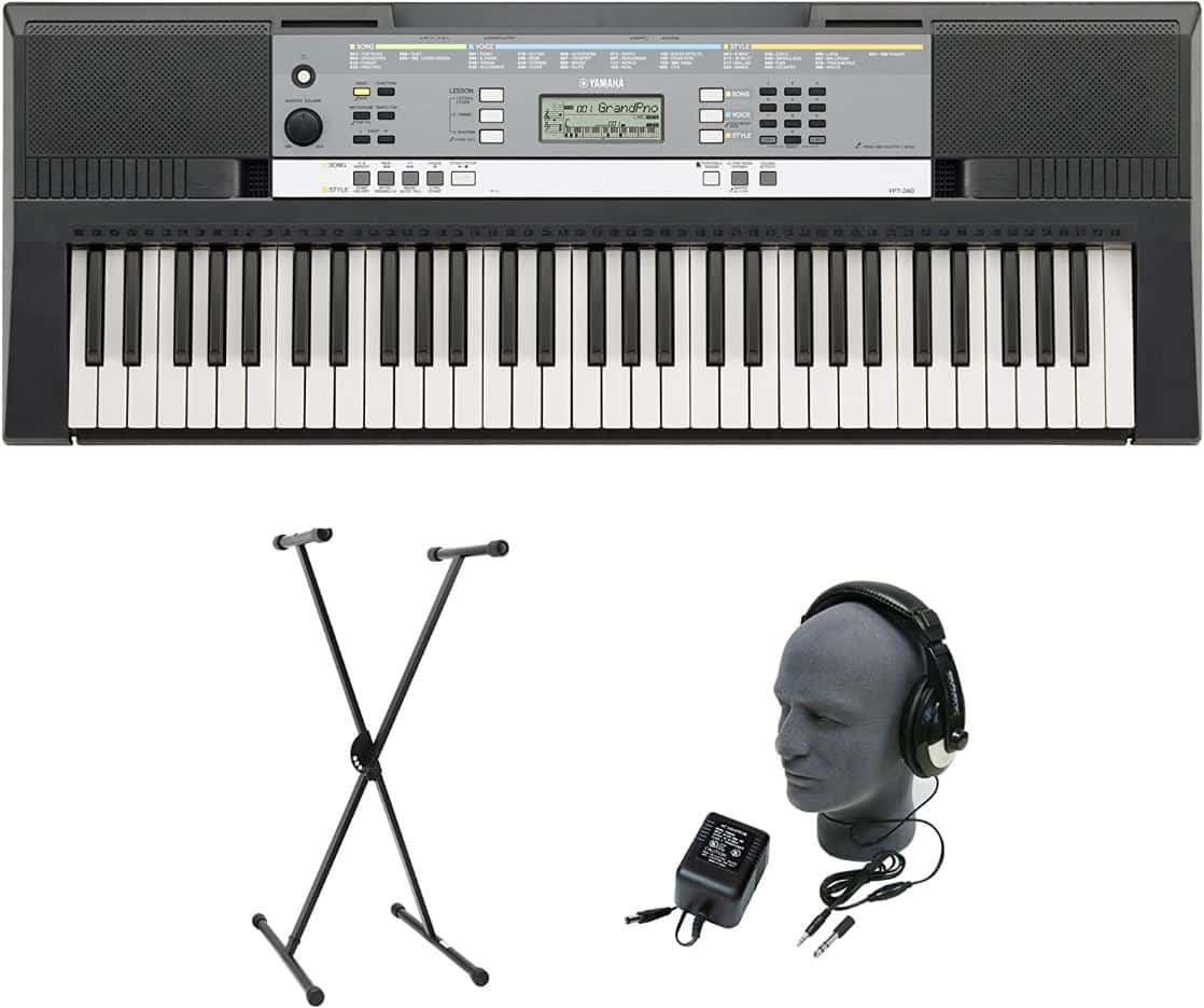 Yamaha YPT-240 Notable Features